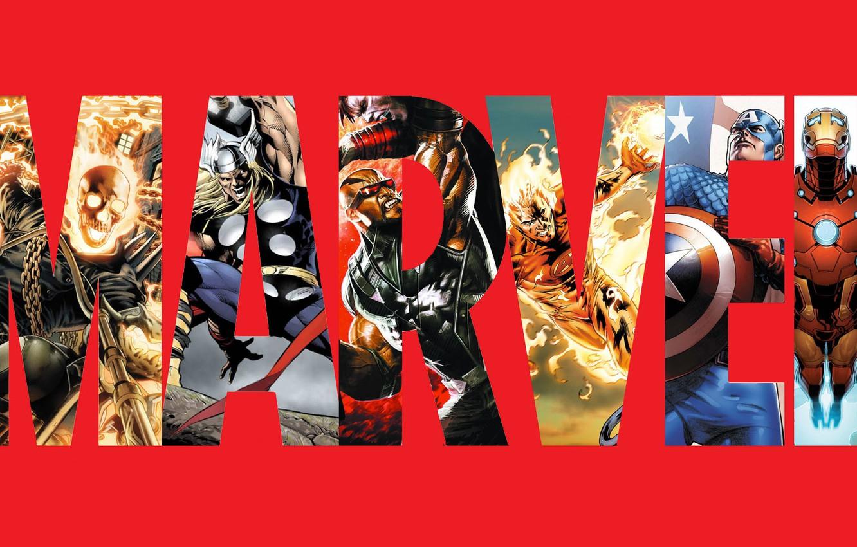 Фото обои Огонь, Очки, Цепь, Герои, Костюм, Шлем, Молот, Ghost Rider, Призрачный гонщик, Логотип, Heroes, Fire, Superheroes, …