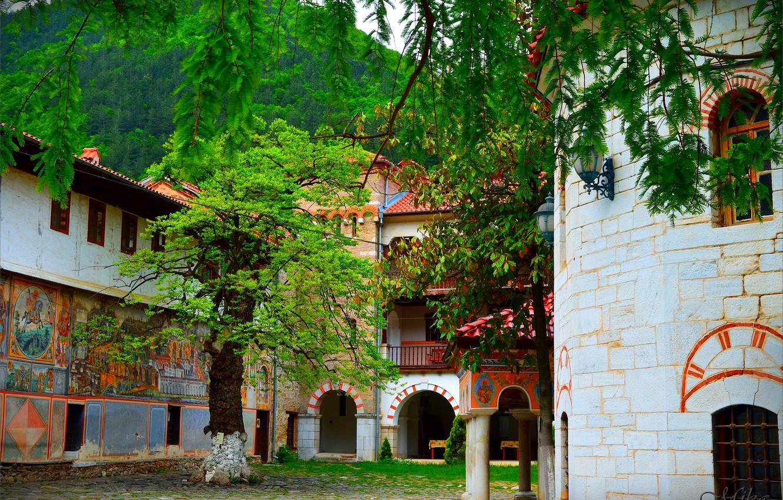Фото обои Город, Здания, Болгария, Town, Buildings, Bulgaria