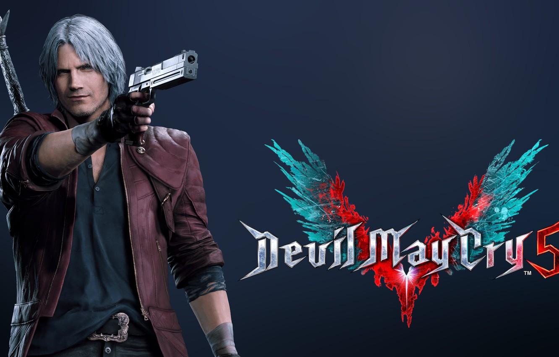 Фото обои Dante, DMC, Devil May Cry 5, Videogame