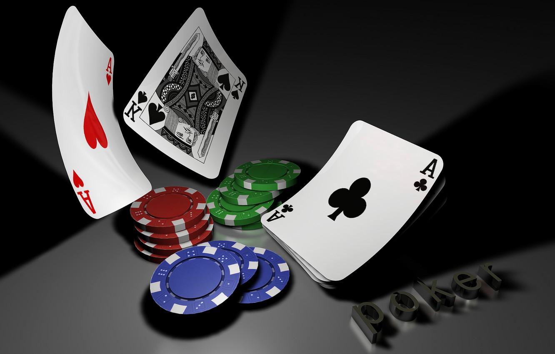 Фото обои карты, покер, казино