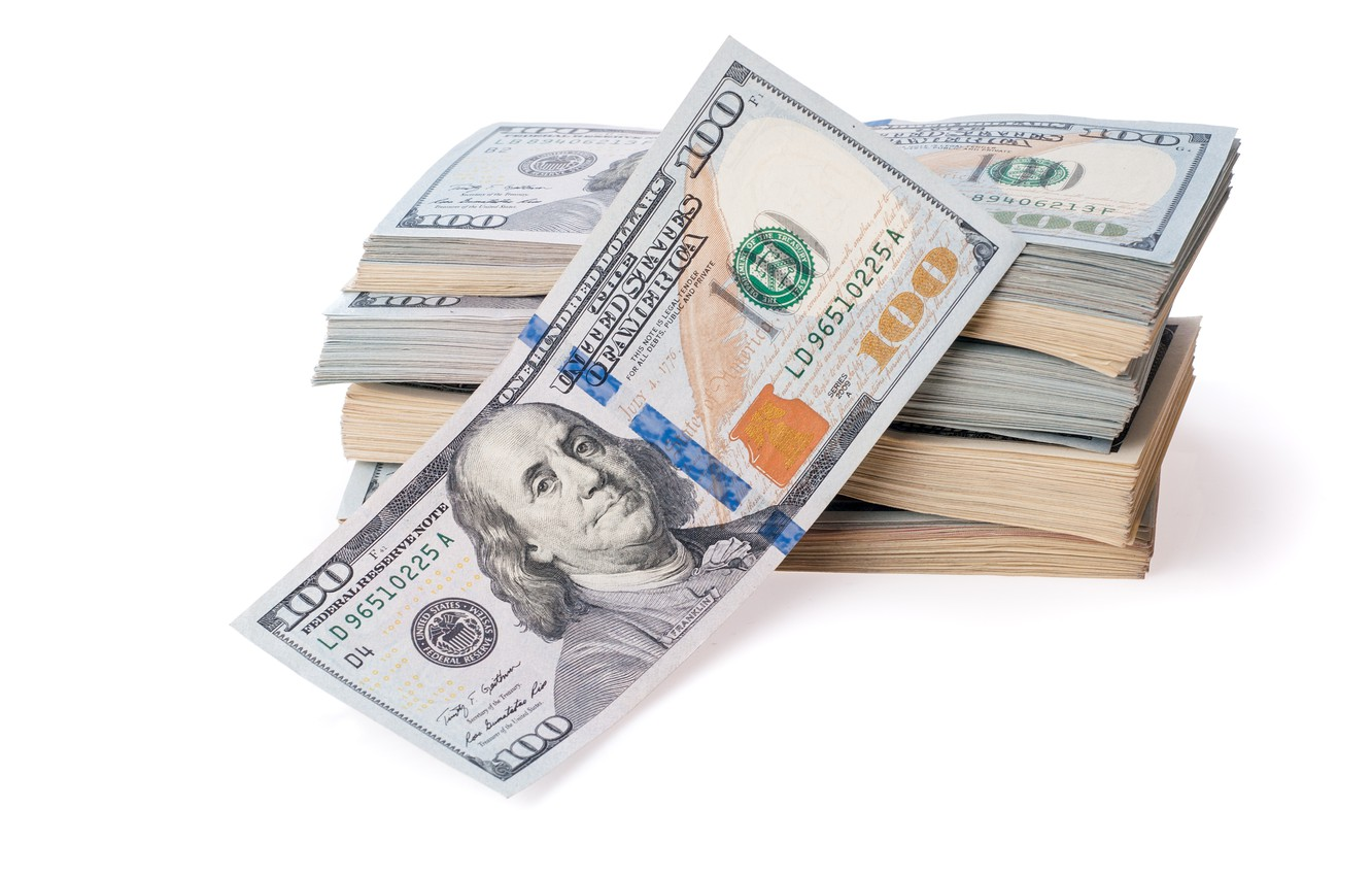 Фото обои money, dollars, currency, fortune, papapes