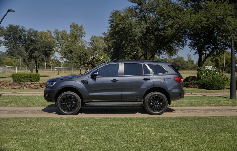 Фото обои Ford, вид сбоку, Sport, Everest, 4WD, 2021