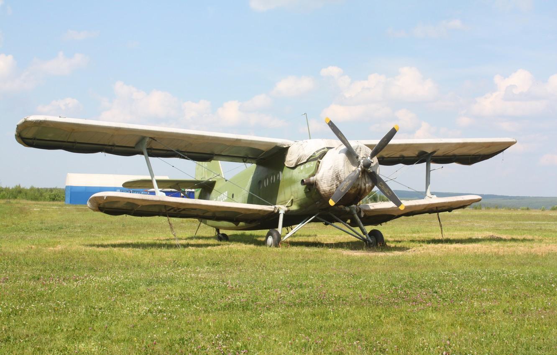Фото обои Самолёт, Ан-2, Кукурузник, Аннушка