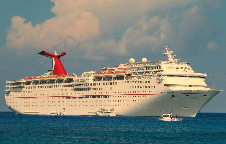 Фото обои корабль, лайнер, круиз
