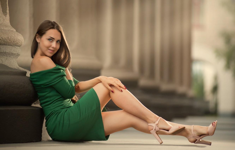 Фото девушки ножки красивые