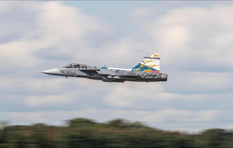 Фото обои Saab, aircraft, speed, Aviation