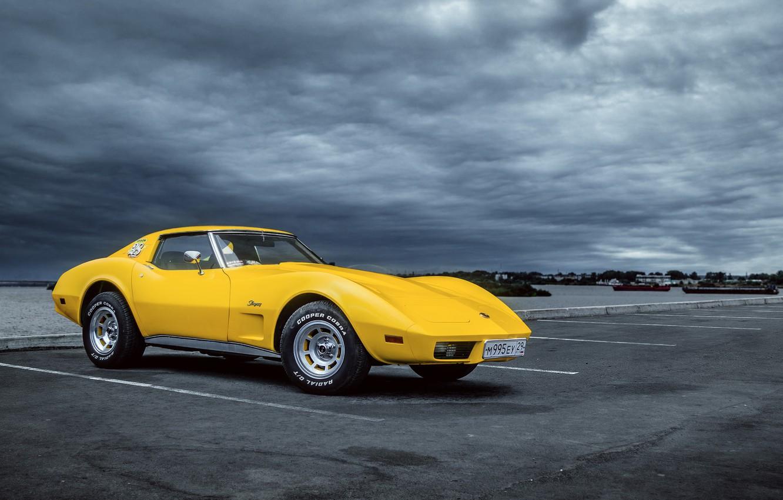 Фото обои Авто, Corvette, Chevrolet, Машина, Art, Chevrolet Corvette, Chevrolet Corvette C3, Transport & Vehicles, by Rodion ...