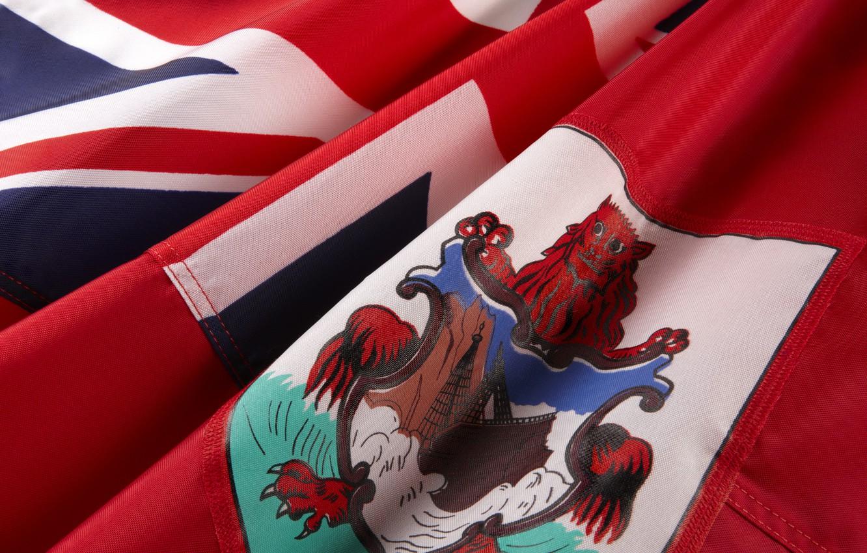 Фото обои флаг, герб, fon, flag, coat of arms, Бермуды, Bermuda, бермуды, bermuda, бермудские острова, Бермудские Острова