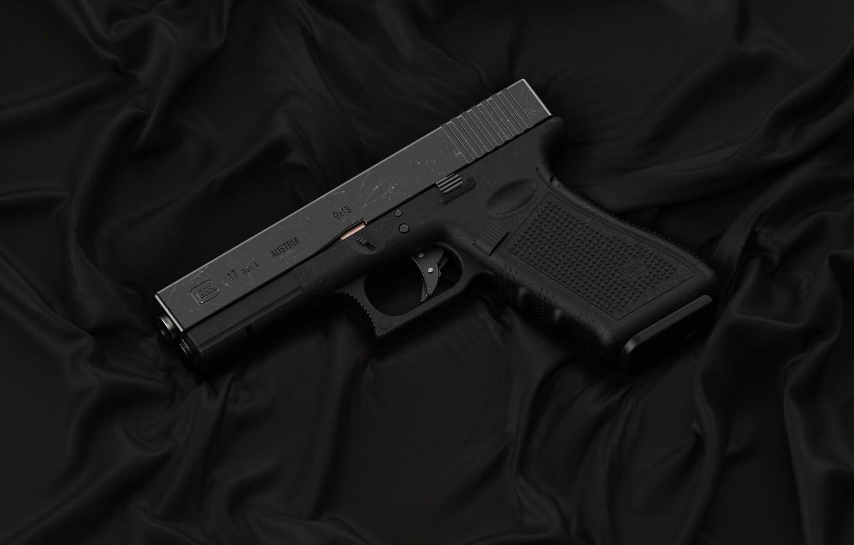 Фото обои пистолет, оружие, pistol, weapon, Глок, Glock, Glock 17 gen 4