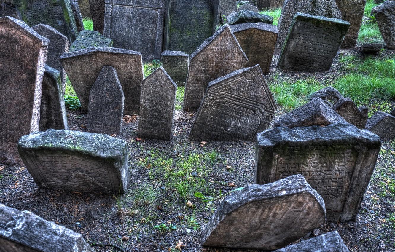 Фото обои жизнь, кладбище, надгробные плиты