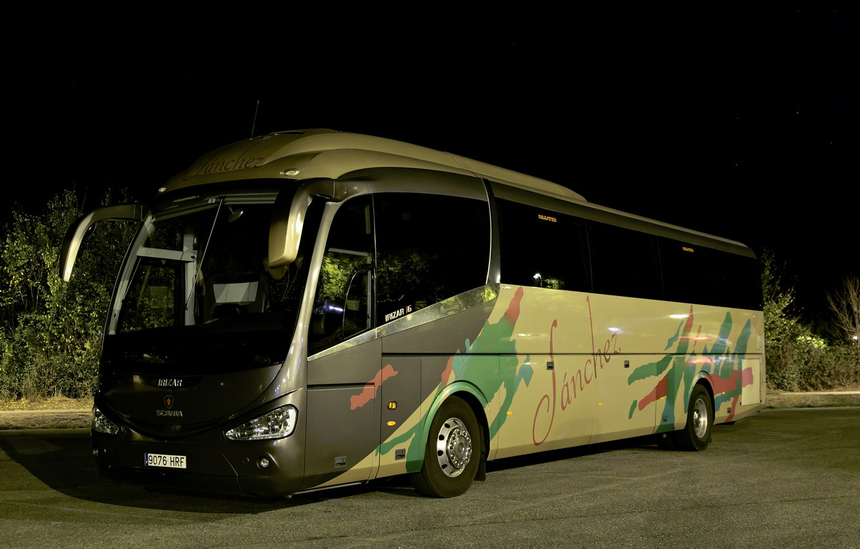 Фото обои автобус, Irizar i6, Irizar