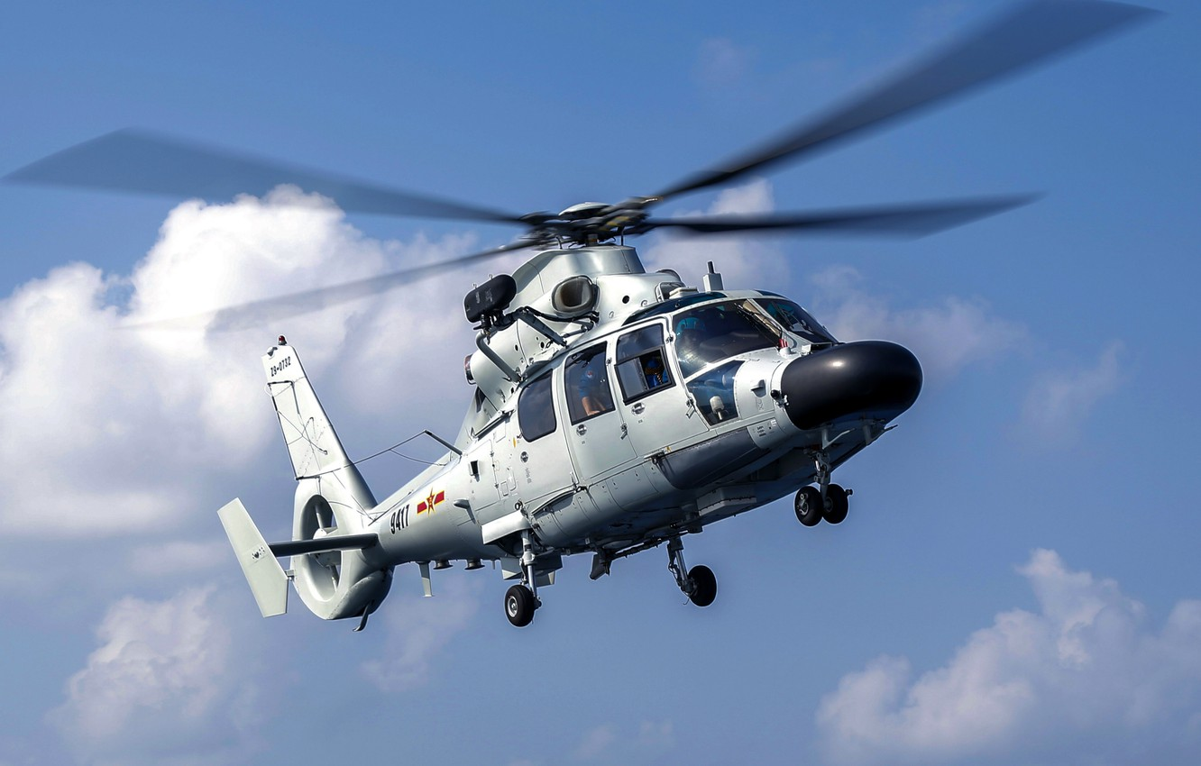 Фото обои sky, helicopter, antisubmarine, Chinese Navy, Z-9D