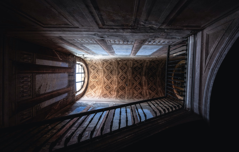 Фото обои дом, фон, лестница