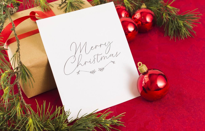 Фото обои Новый Год, Рождество, лента, подарки, Christmas, box, wood, New Year, decoration, gifts, Merry, fir tree, …