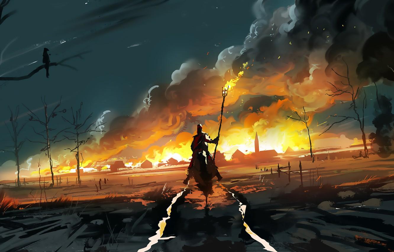 Обои персонаж, Goblin slayer, Убийца гоблинов, «воин»), арт, аниме, Дева меча. Разное foto 14