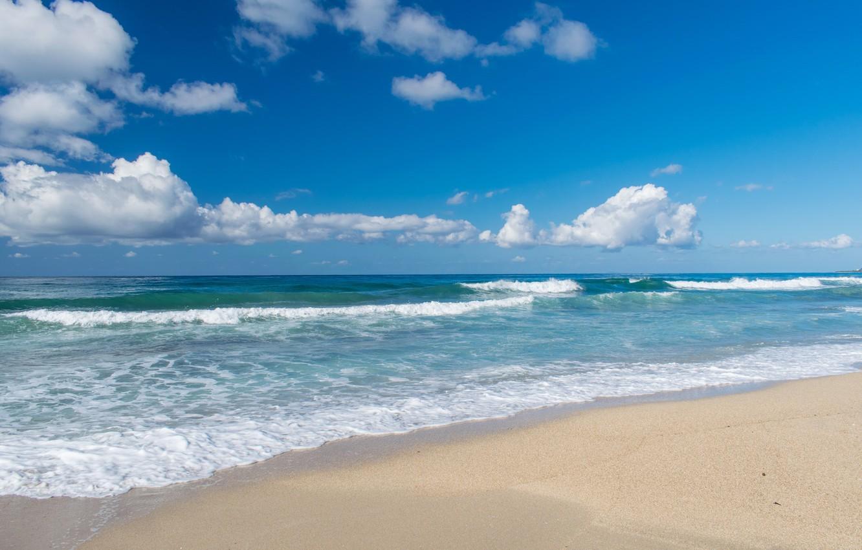 Фото обои море, песок., Отпуск