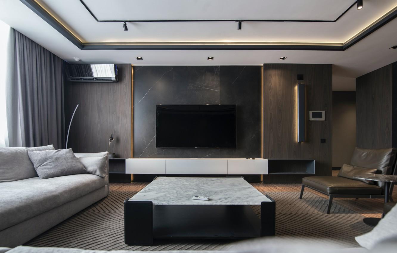 Фото обои стол, диван, мебель, интерьер, кресло, стул, кухня, chair, плазма, interior, sofa, table, armchair, kitchen, furniture, …