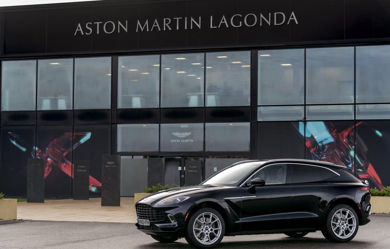 Фото обои Aston, Паркетник, Aston Martin DBX