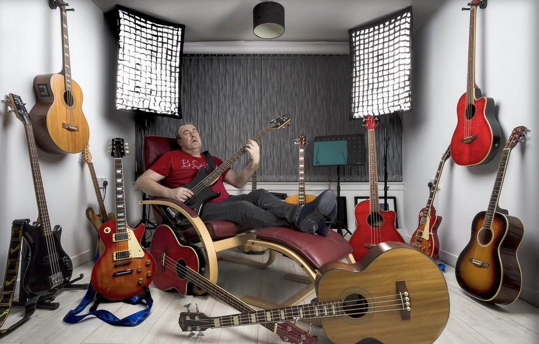 Обои Гитара, Человек, музыка. Музыка foto 16