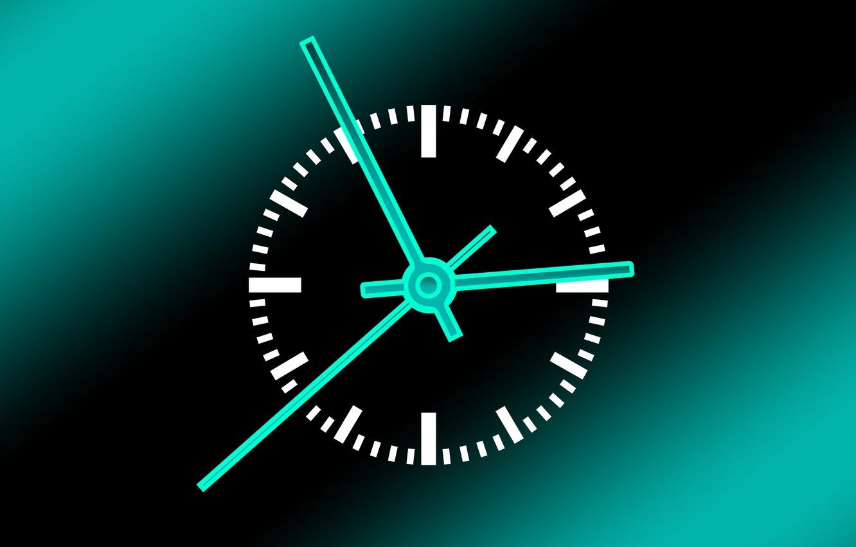 Фото обои время, стрелки, часы