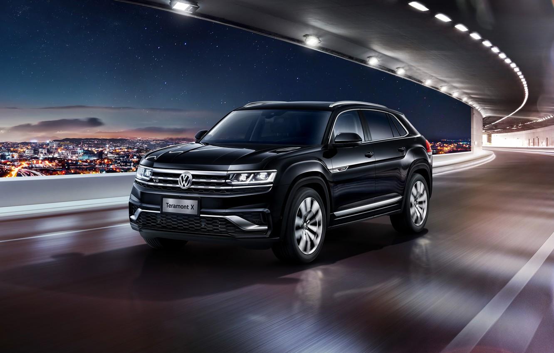 Фото обои Volkswagen, кроссовер, Atlas, 2019, Teramont X