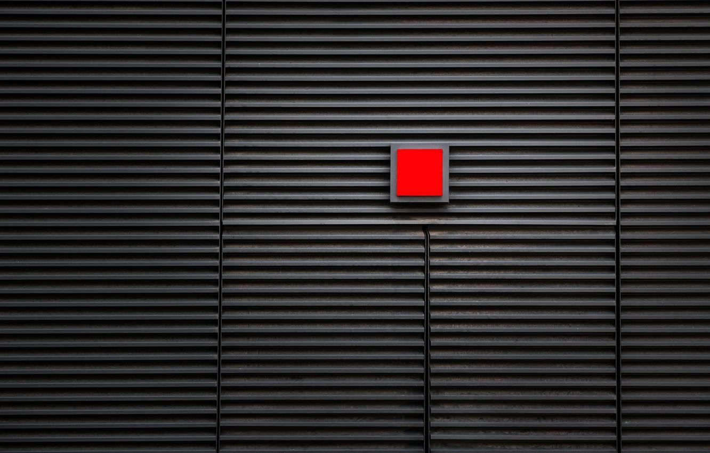 Фото обои полосы, стена, wall, квадрат, square, stripes