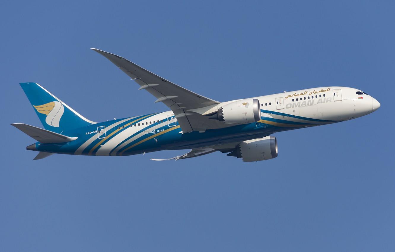 Фото обои Boeing, Oman Air, 787-8