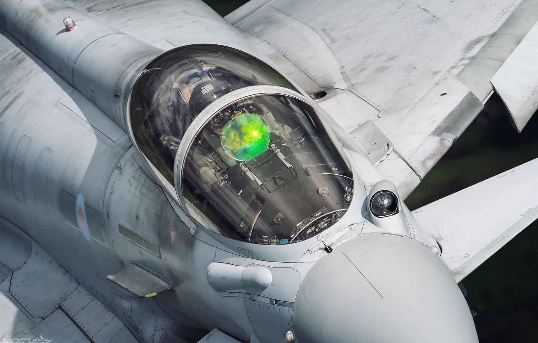 Обои fighter, military, eurofighter, Typhoon. Авиация foto 12