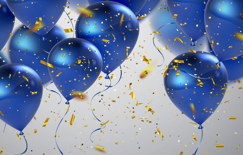 обои на рабочий стол воздушные шарики с днем рождения первое воскресенье сентября