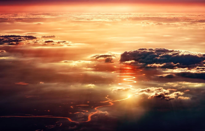 Обои свет, Облака. Разное foto 6