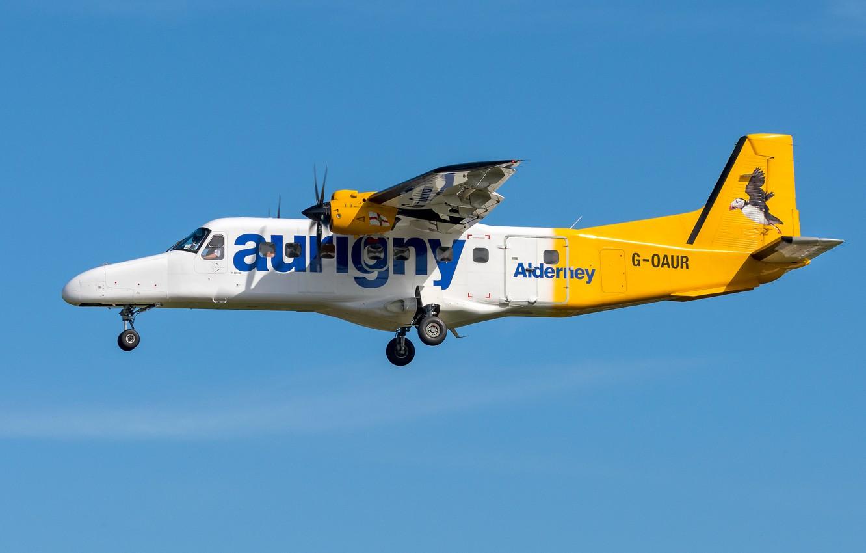 Фото обои Dornier, Do 228, Aurigny Air Services