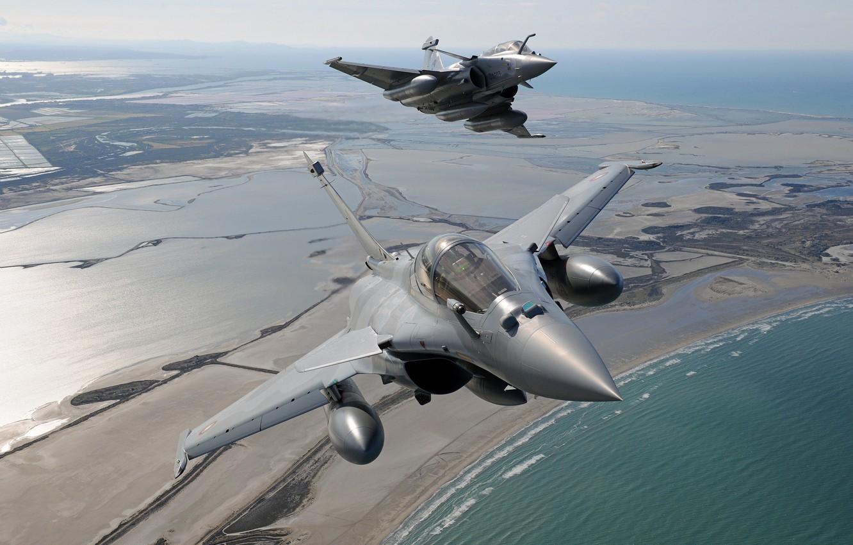 Обои ВВС Франции, MBDA MICA, Ракета, ПТБ, Dassault Rafale, Armée de l'Air, Истребитель, Rafale D. Авиация foto 14