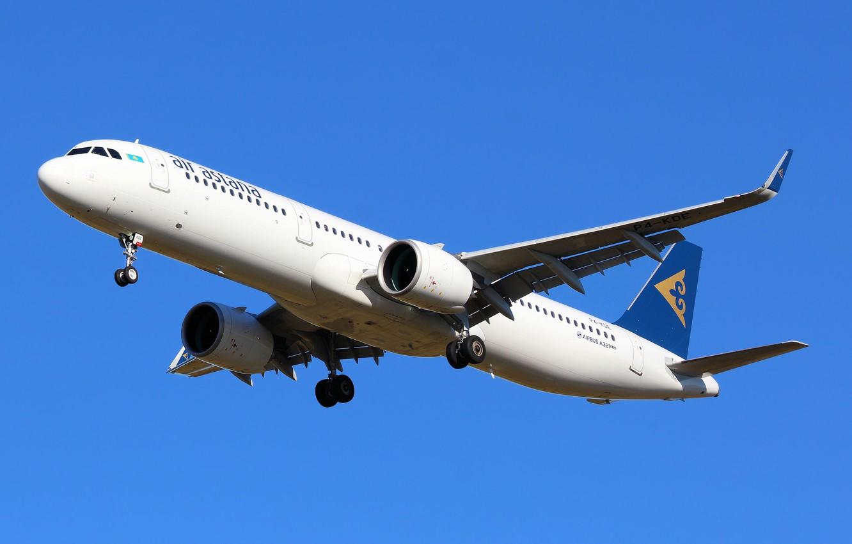 Фото обои Airbus, Air Astana, споттинг, своё фото, spotting, my photo, Own photo, Шереметьево (SVO), your photo, …