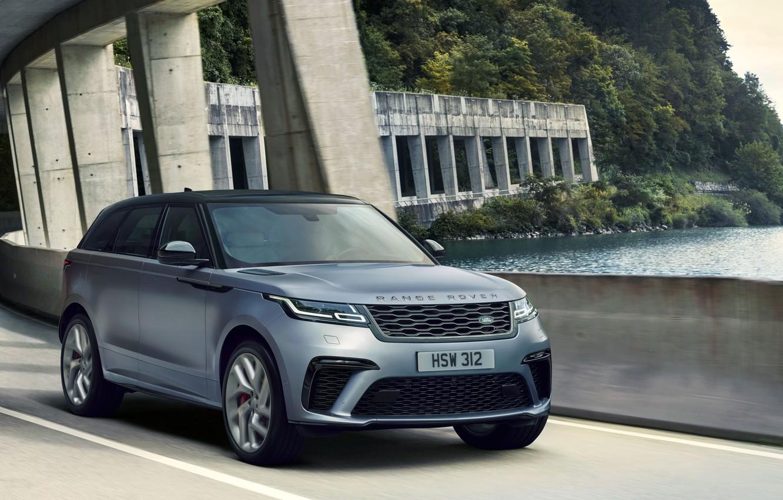 Фото обои Машина, Land Rover, Range Rover, кроссовер, SVAutobiography, Velar, Dynamic Edition