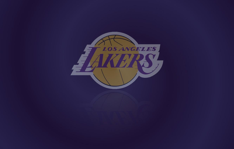 Фото обои Logo, NBA, Lakers, Basketball, Los Angeles Lakers, Emblem, LA Lakers