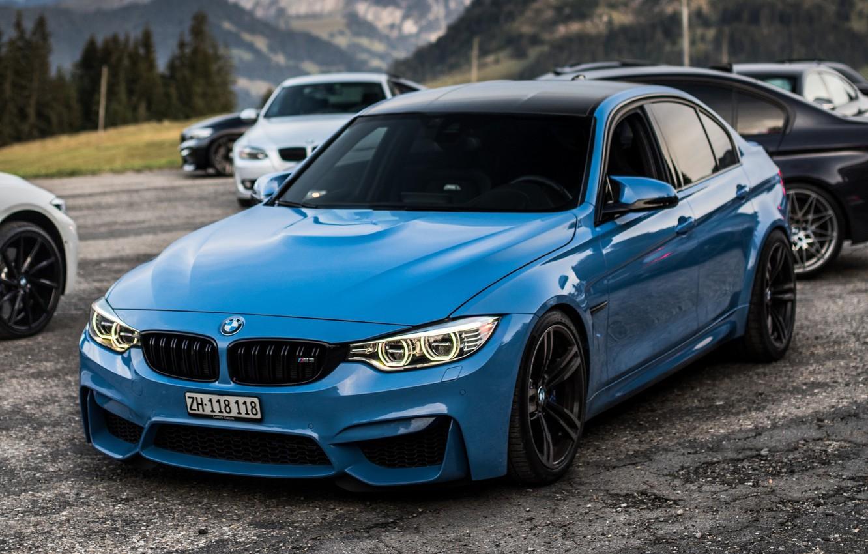 Фото обои Авто, Синий, BMW, Машина, Cars, BMW M3, Передок, Transport & Vehicles, JAIPAL P, by JAIPAL ...