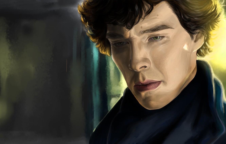 Фото обои мужчина, актёр, Шерлок Холмс