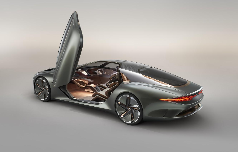 Фото обои Concept, Bentley, дверь, 2019, EXP 100 GT