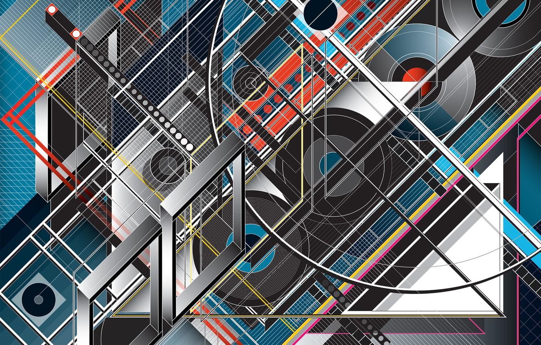Обои фон, форма, Цвет. Абстракции foto 7