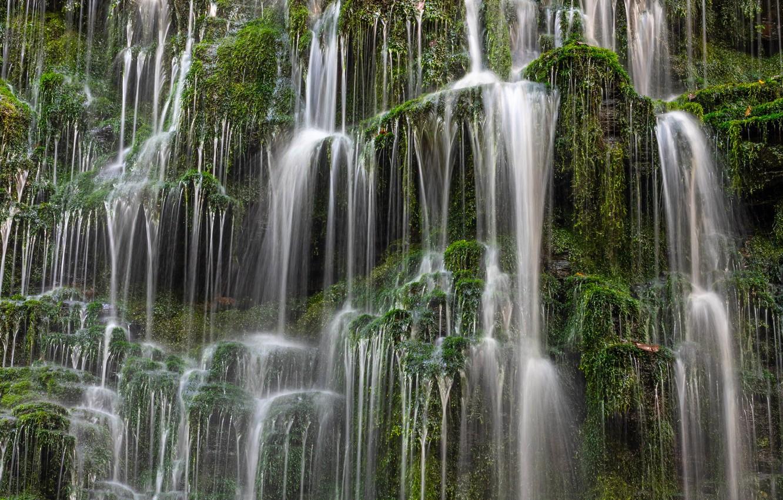 Прикольные, открытки с водопадами каскадами