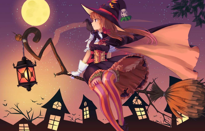 Обои ведьмочка. Разное foto 10