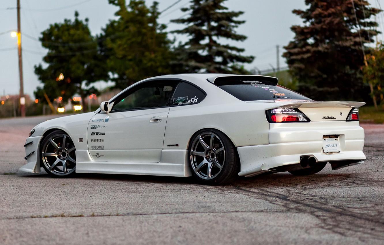 Фото обои Silvia, Nissan, Nissan Silvia