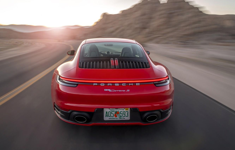 Фото обои 911, Porsche, Порше, Porsche 911 Carrera S, Carrera S, 2020