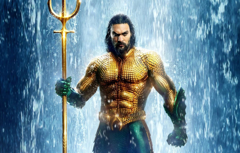 Фото обои фэнтези, Aquaman, Джейсон Момоа, Аквамен