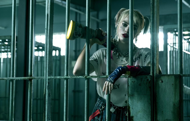 Фото обои Харли Квинн, Harley Quinn, Birds of Prey, Марго Робби, 2020, superhero film, супергеройский фильм, Хищные …