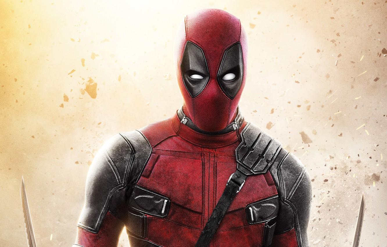 Фото обои фон, костюм, Deadpool, Дэдпул, комикс, MARVEL
