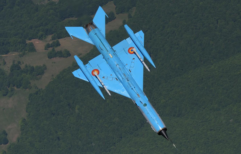 Обои ВВС Румынии, ОКБ Микояна и Гуревича, МиГ-21, pilot, Истребитель. Авиация foto 13