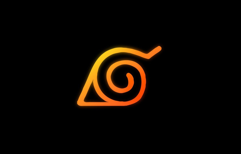 Фото обои лист, фон, Наруто, Naruto