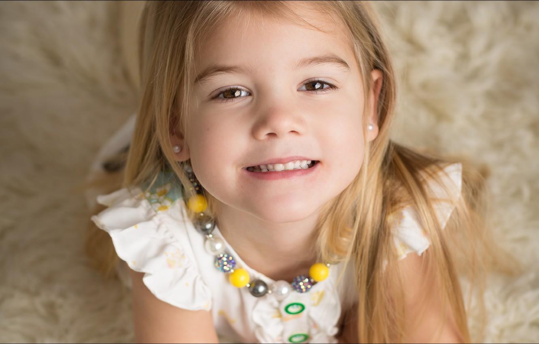 Обои улыбка, портрет, Девочка. Разное foto 14