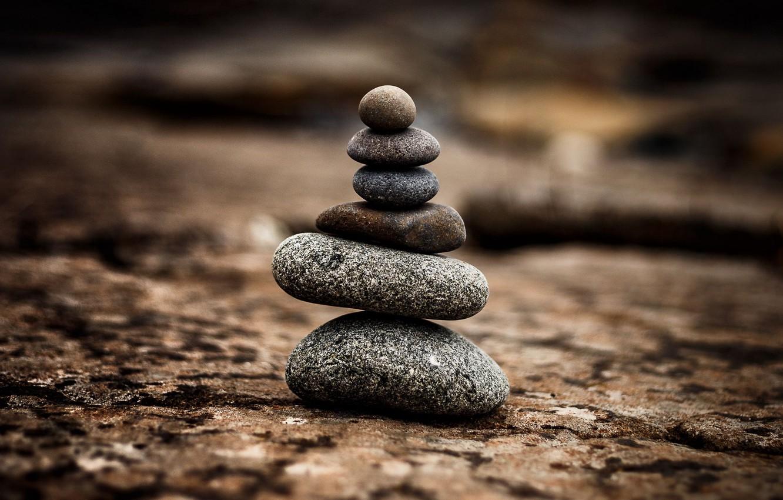 Фото обои поверхность, камни, гармония, баланс